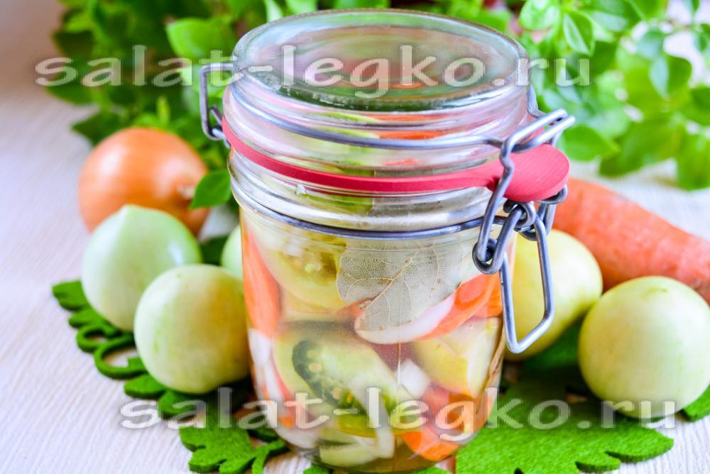 Заготовки на зиму салатов простыеы