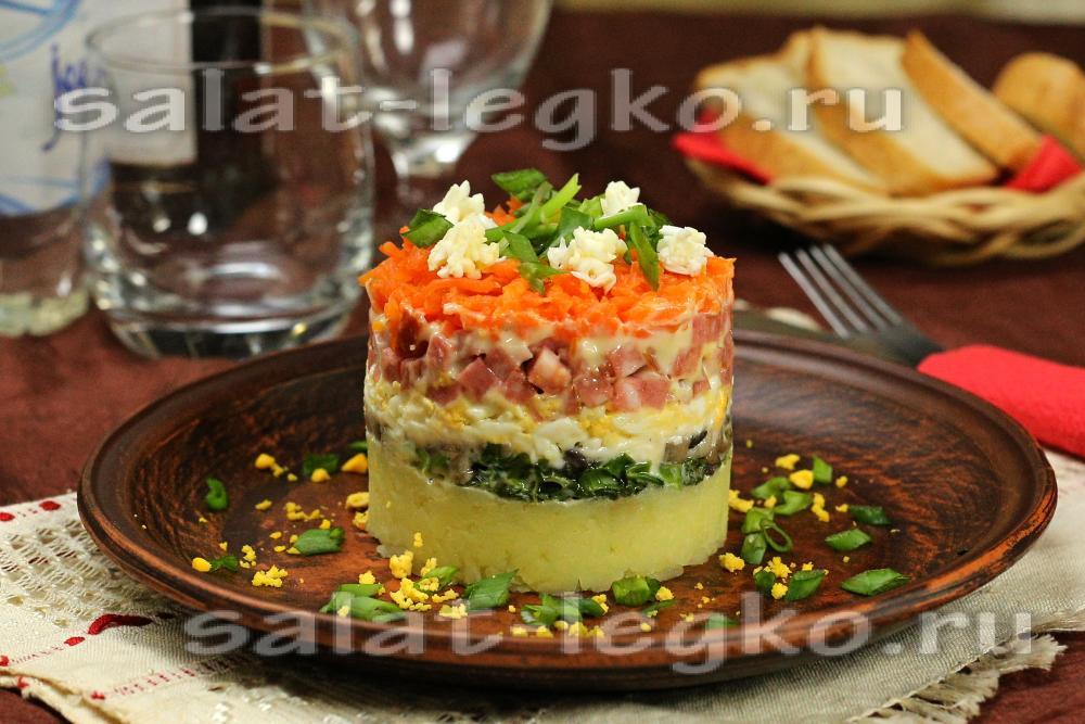 Вкусные и дешевые салаты и рецептами