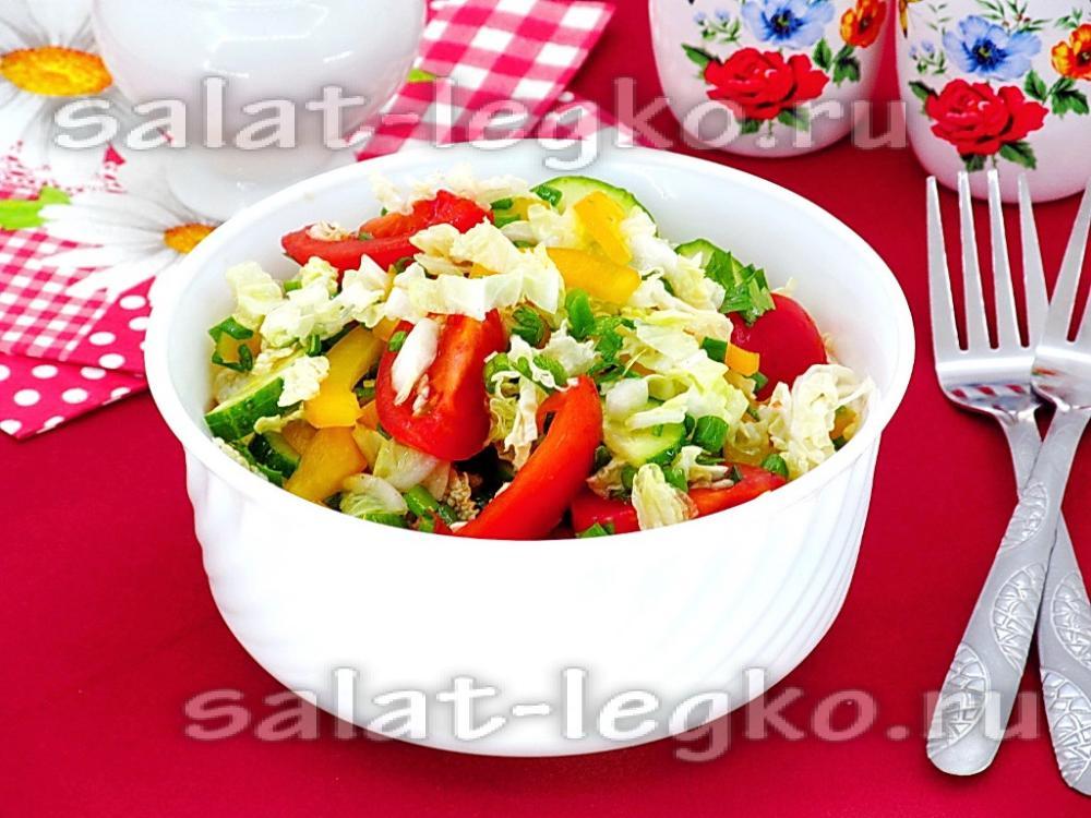 рождественский салат рецепт светофор