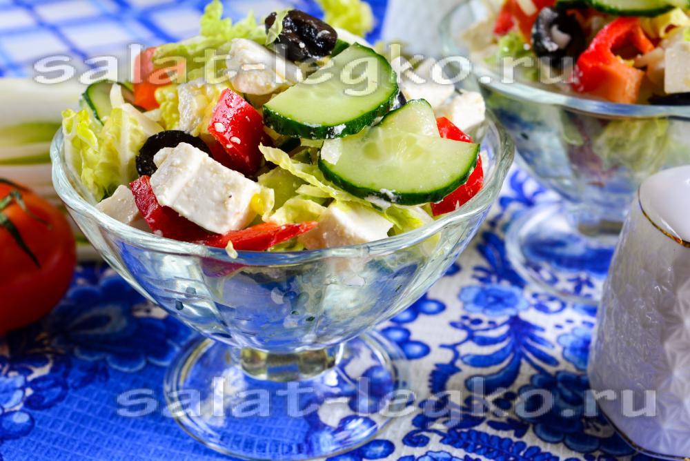 греческий салат рецепт классический с