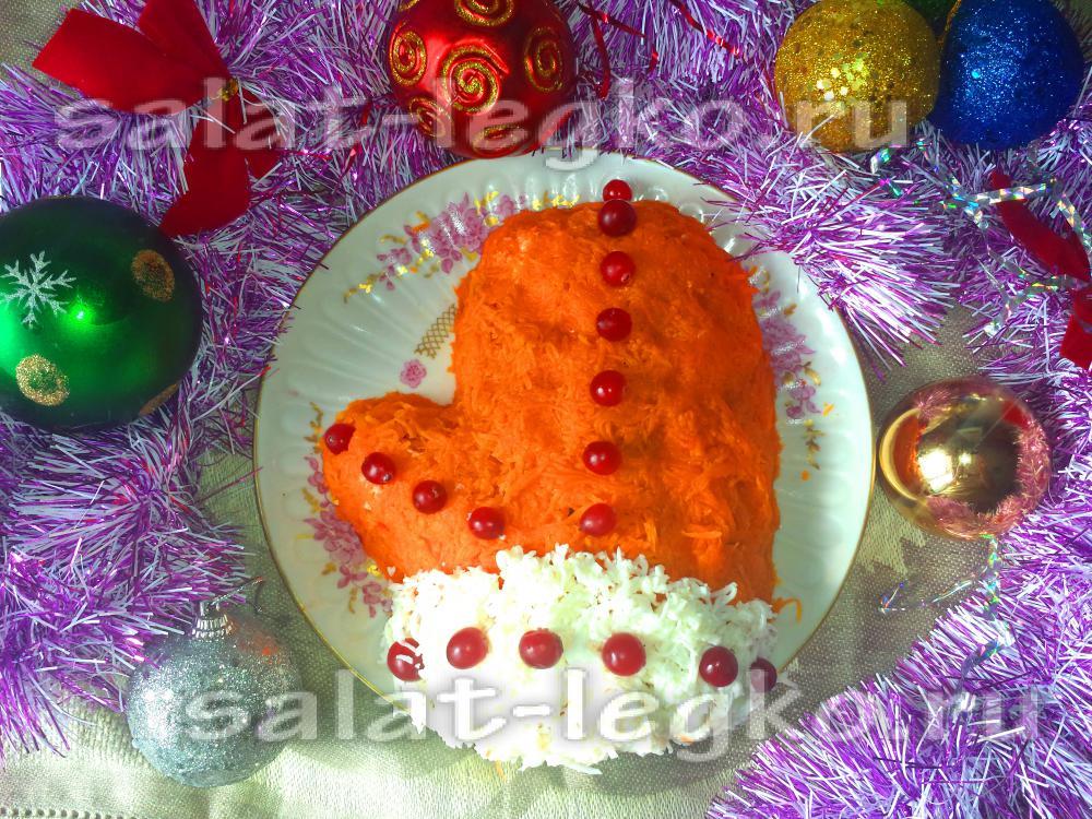 Рецепты салатов с фото 2012 к новому году