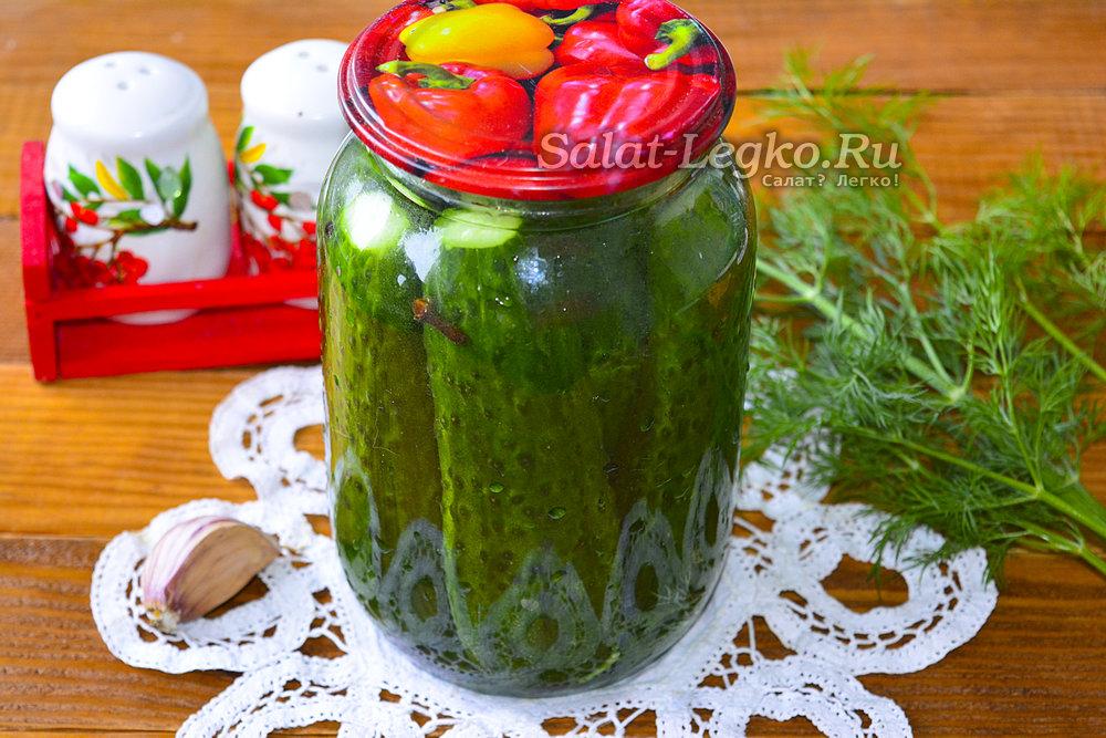 Рецепт вкусных соленых огурцов на зиму