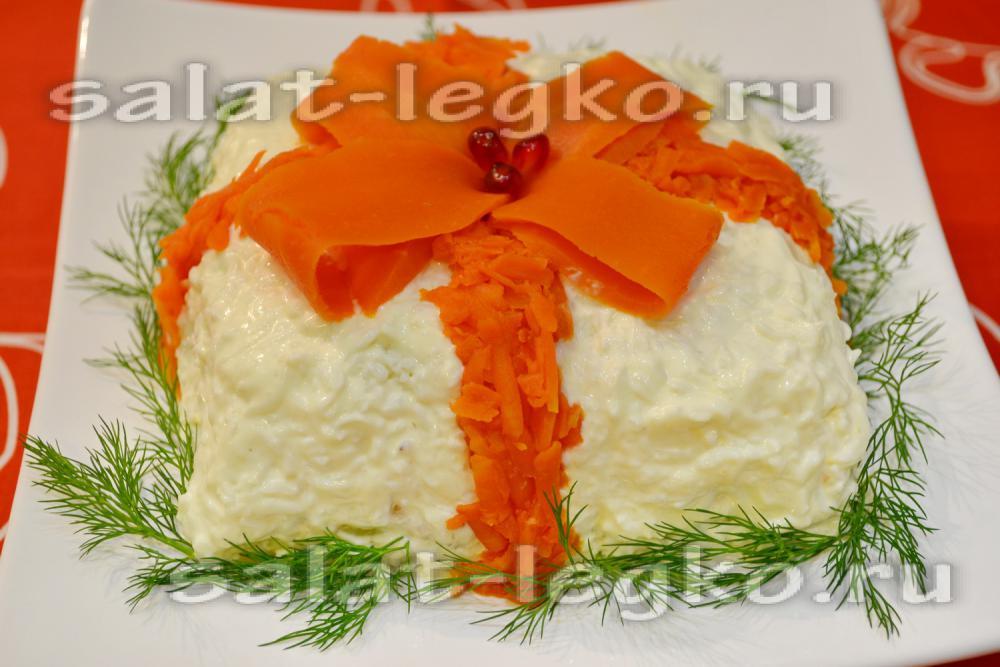 Салат для мужчин на день рождения