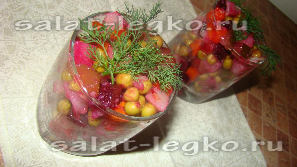 какой приготовить салат с солеными огурцами рецепт