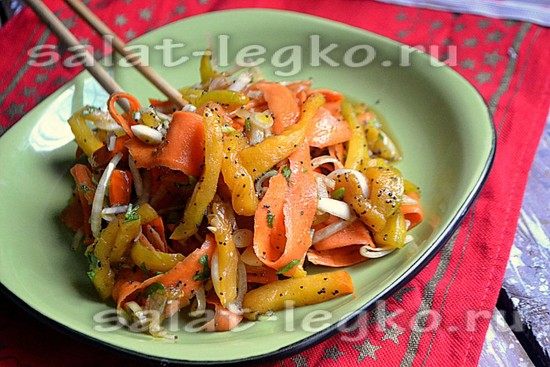 Салат с тыквой и морковью рецепты 53