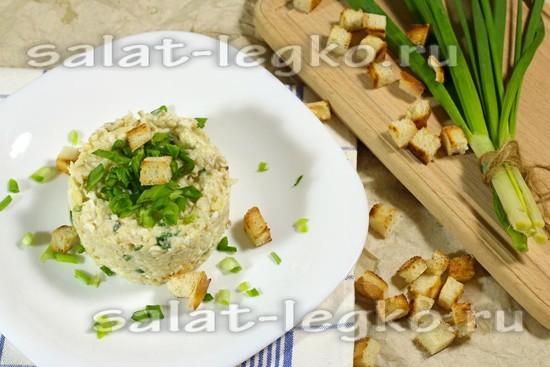 рецепт салата с курицей, яблоками и сыром