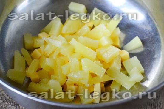 ананасы нарезать