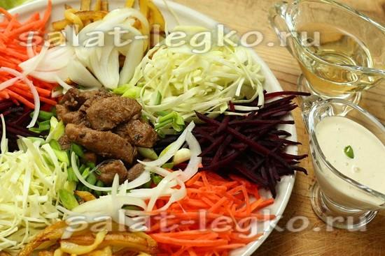 "Салат ""Чафан"" - пошаговый рецепт с фото"