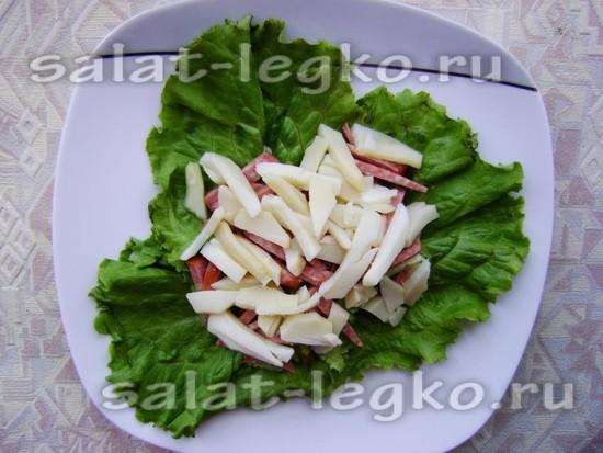 Смотреть Рецепт салата перепелиное гнездо с фото видео