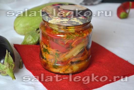 "Рецепт салата ""овощной миксquot;"