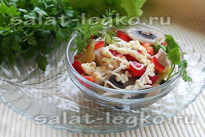 Салат английский рецепт с фото классический