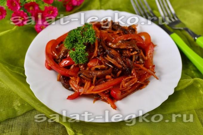 Салат из курицы по-китайски рецепт