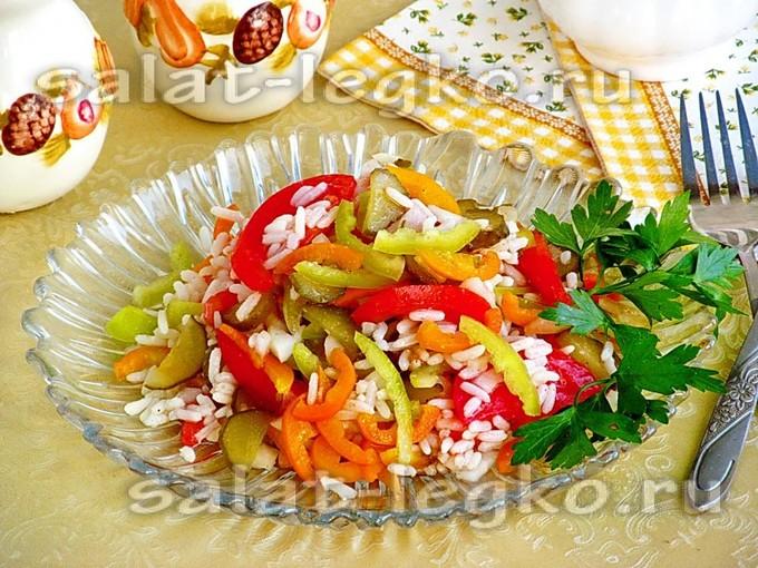 Праздничные овощные салаты на день рождения