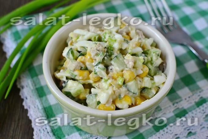 Салат из печени трески слоеный рецепт с