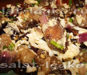 Салат из жареных баклажанов с огурцами рекомендации