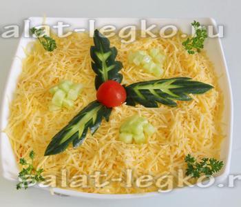 Салат со шпротами рецепт с очень вкусный слоями