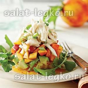 Авокадо против жира! Рецепты вкусных салатов