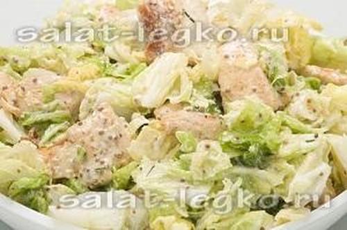 пекинская капуста рецепты салатов