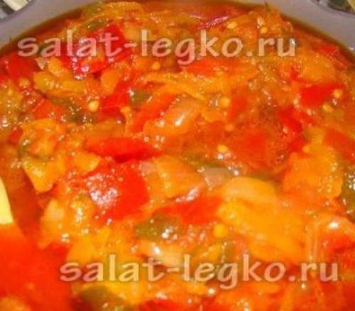 приготовление лечо с помидорами и морковкой на зиму