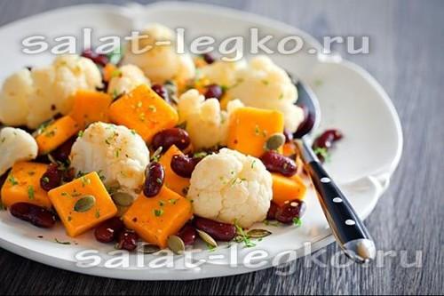 Салат из куриной грудки, простой и вкусный