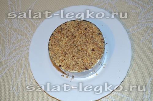 ореховый слой салата