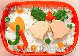 Новогодние легкие салаты 2014