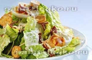 простые салатики с курицей на скорую руку рецепты с фото