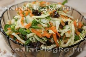 Салаты из белокочанной капусты. Едим каждый день и худеем!