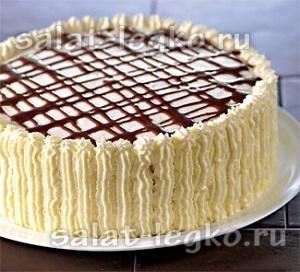 Торты-салаты и десертные торты