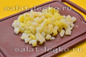 Картофель нарежем