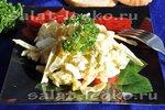 Sałatka z wędzonego kalmarów