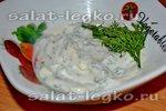 Sos majonezowy z kopru, cebuli i papryki