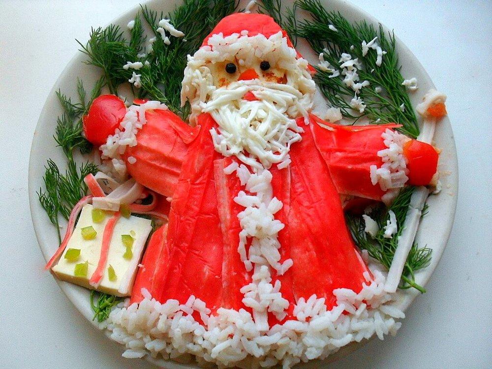 Новогодний стол рецепты с фото и украшения