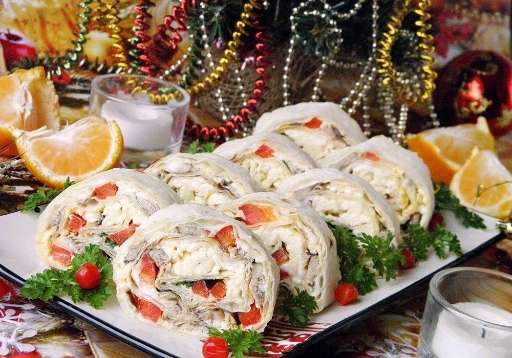 Оригинальные рецепты для новогоднего стола с фото