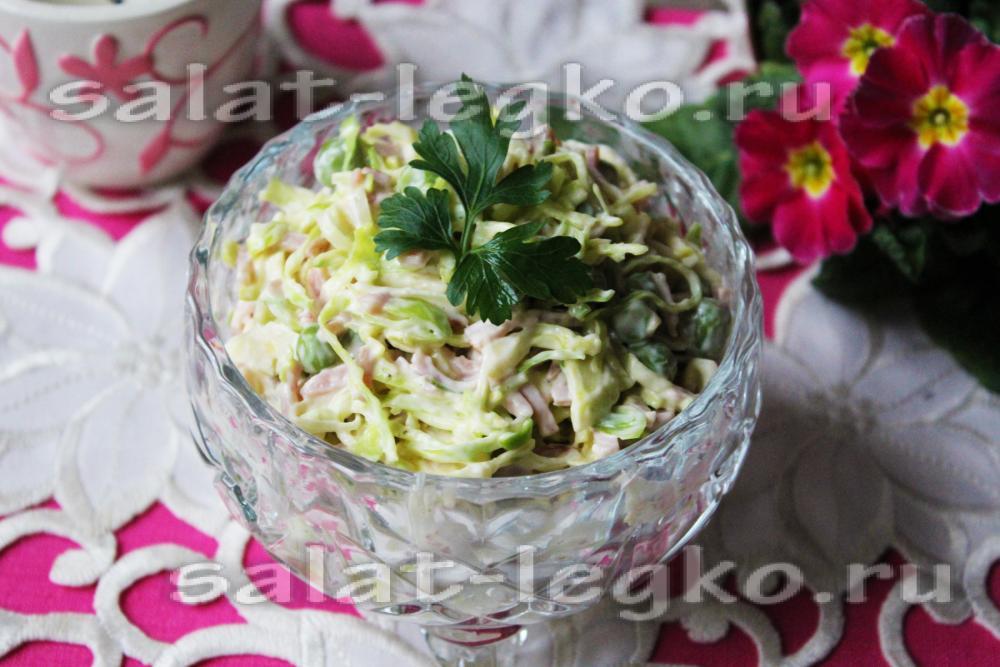 Салат из капусты и диабет