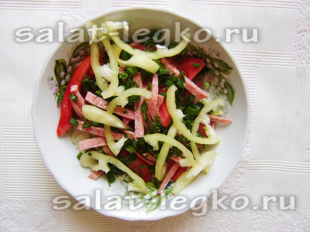 Салат холостяк изоражения