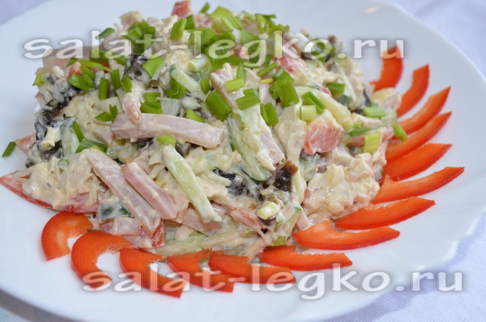 салат фаворит рецепт с фото пошагово приготовим