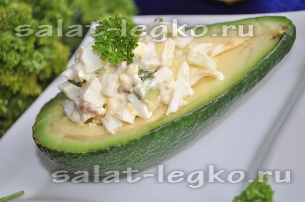 Салат с креветками пошаговый фото рецепт