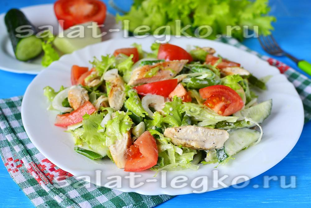 Приготовить диетический салат с курицей — pic 10