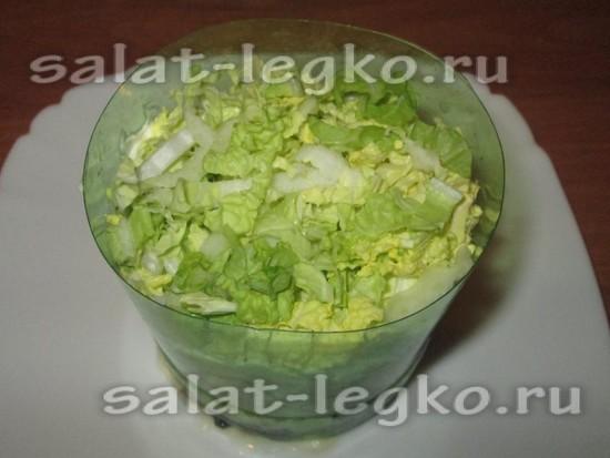слой капусты