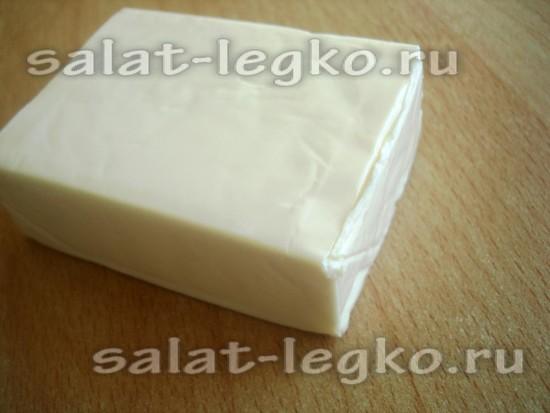 плавленый сыр подготовить