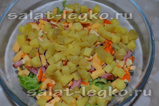 картофель нарезать