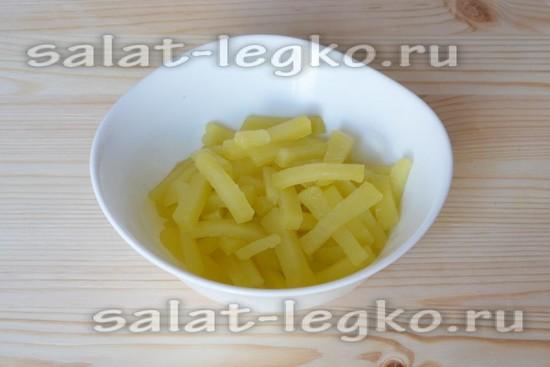 Сварим картофель в нарезке