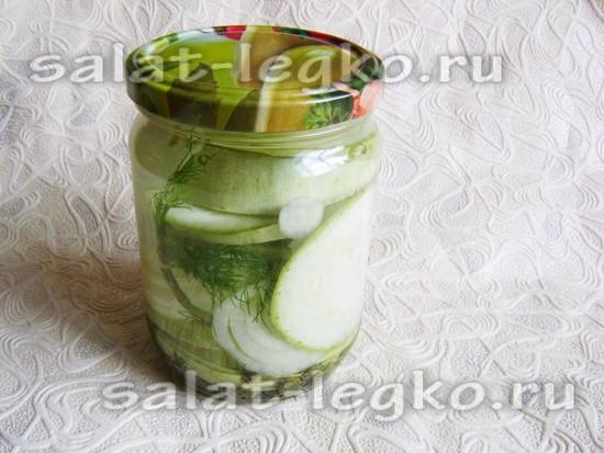 Салат из кабачков «Впрок»