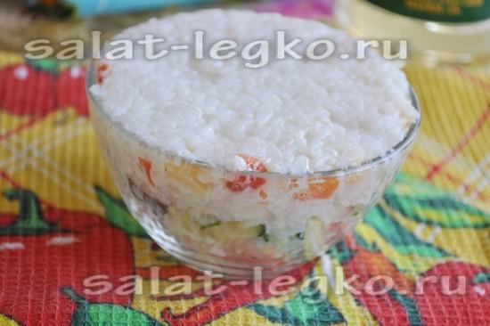 завершающий слой рис