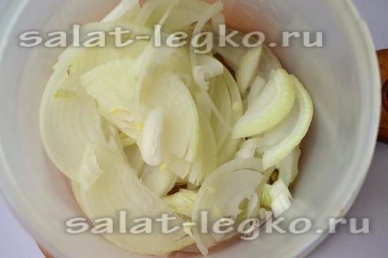 замариновать репчатый лук для салата