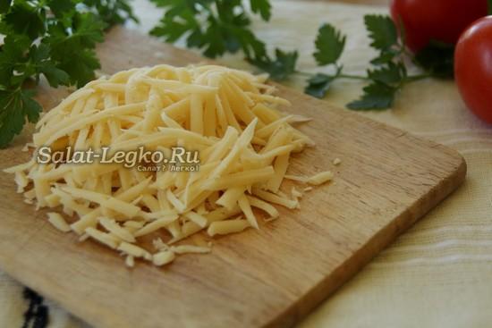 сыр натереть на терку