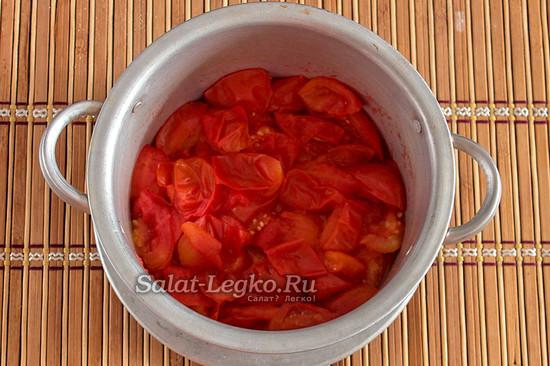 сварить помидоры