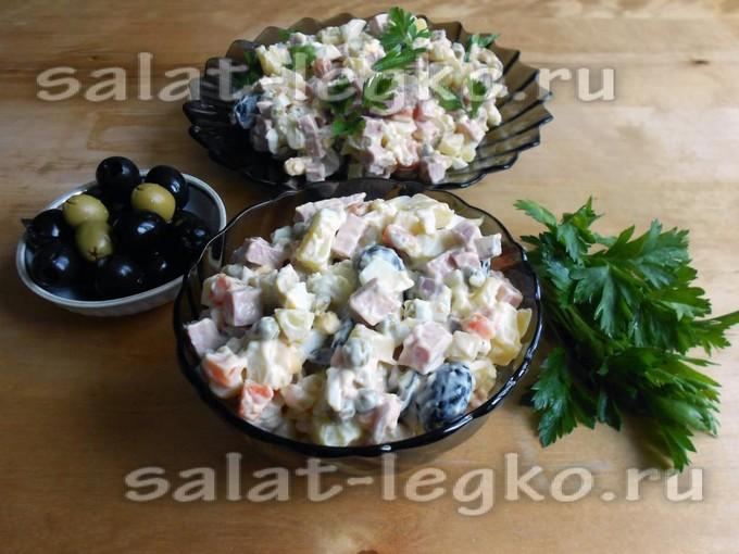 салат ленинградский на зиму