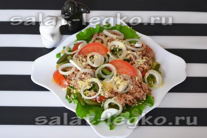 """Оригинальный французский салат """"Нисуаз"""""""